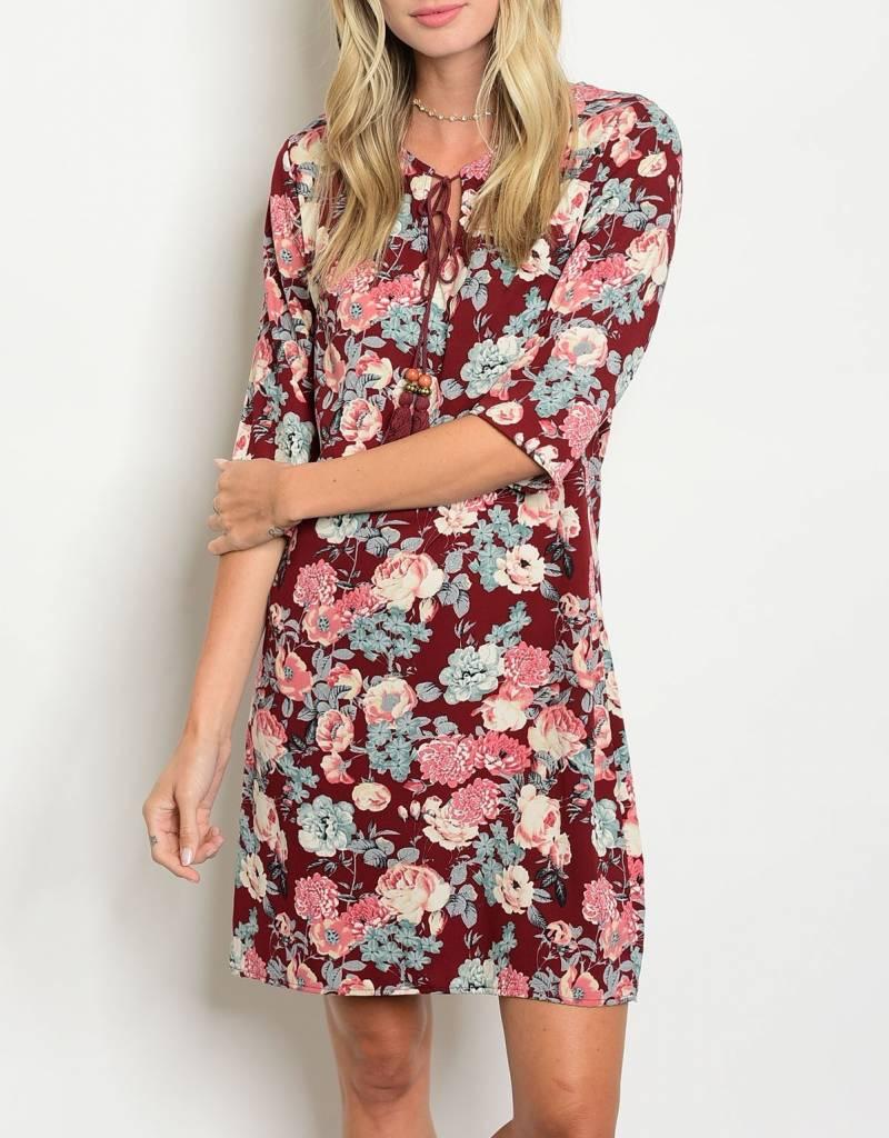 Shoptiques Cotton Candy Flowers Dress