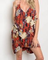 Shoptiques Regina Print Dress