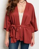 Shoptiques Black Belt of Love Kimono