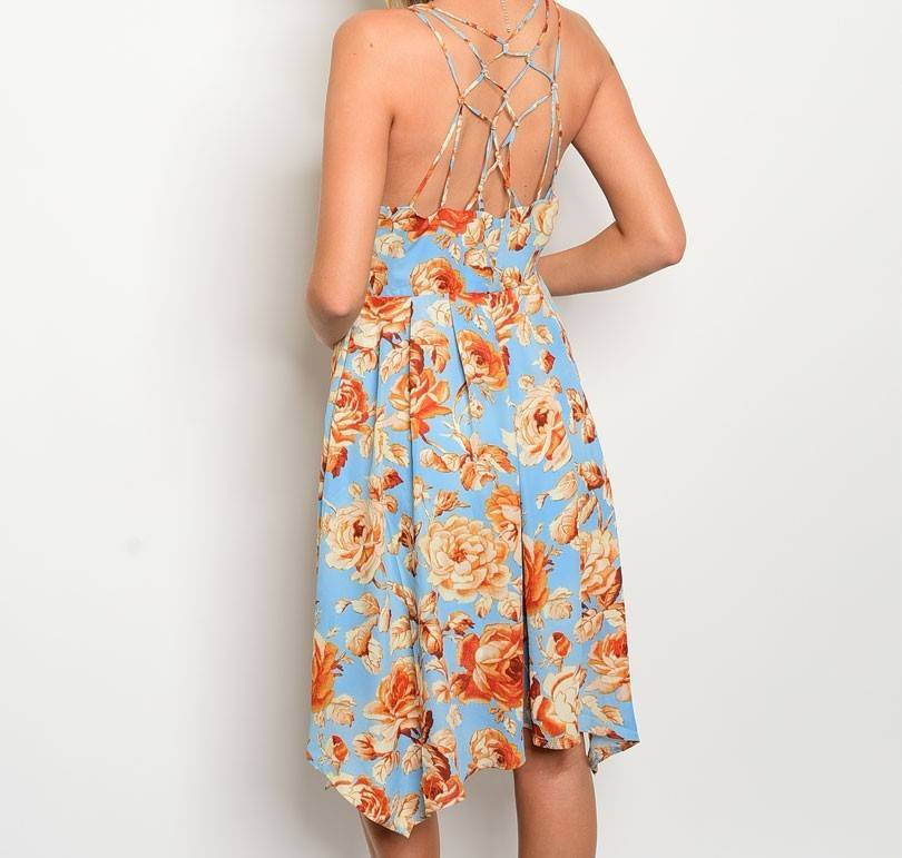 Shoptiques Fall Roses Dress