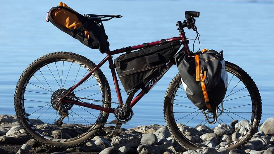 Blackburn Outpost Frame Bag LG Black