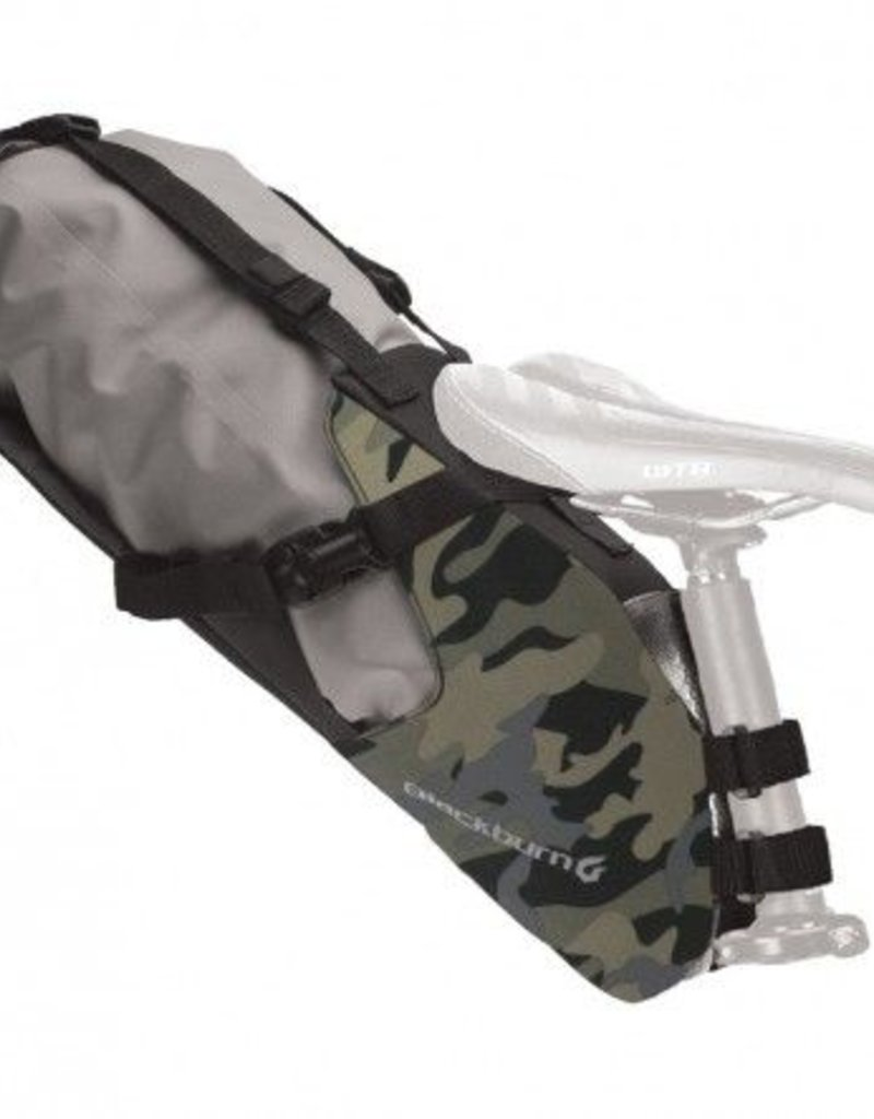 Blackburn Outpost Seat Pack w/Dry Bag, Camo