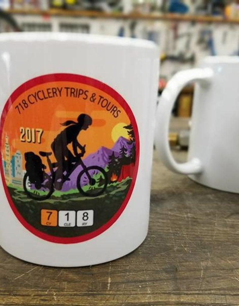 718 Trips Coffee Mug