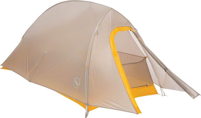 Big Agnes, Inc. Fly Creek HV UL1 Shelter, Ash/Yellow, 1-person