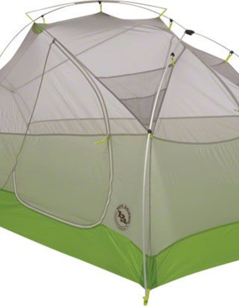 Big Agnes, Inc. RattleSnake SL2 mtnGlo Shelter, Gray/Plum, 2-person