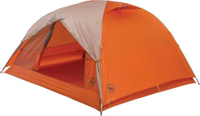 Big Agnes, Inc. Copper Spur HV UL3 Shelter, Gray/Orange, 3-person