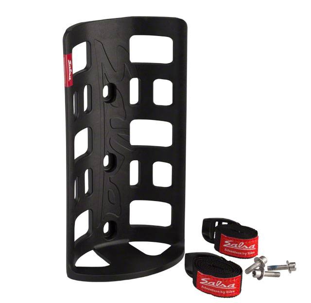 Salsa Salsa Anything Cage HD with Salsa Straps Black