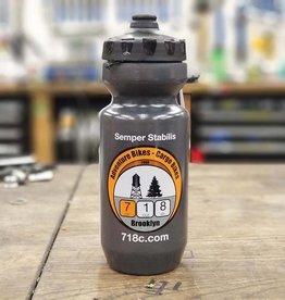 718 Stuff 718 Water Bottle Grey
