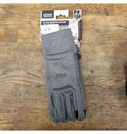 Outdoor Research PL100 Sensor Women's Gloves, Charcoal Heather, MD