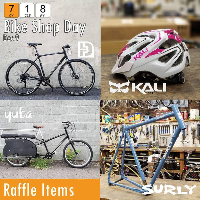 Raffle Ticket Bike Shop Day 2017
