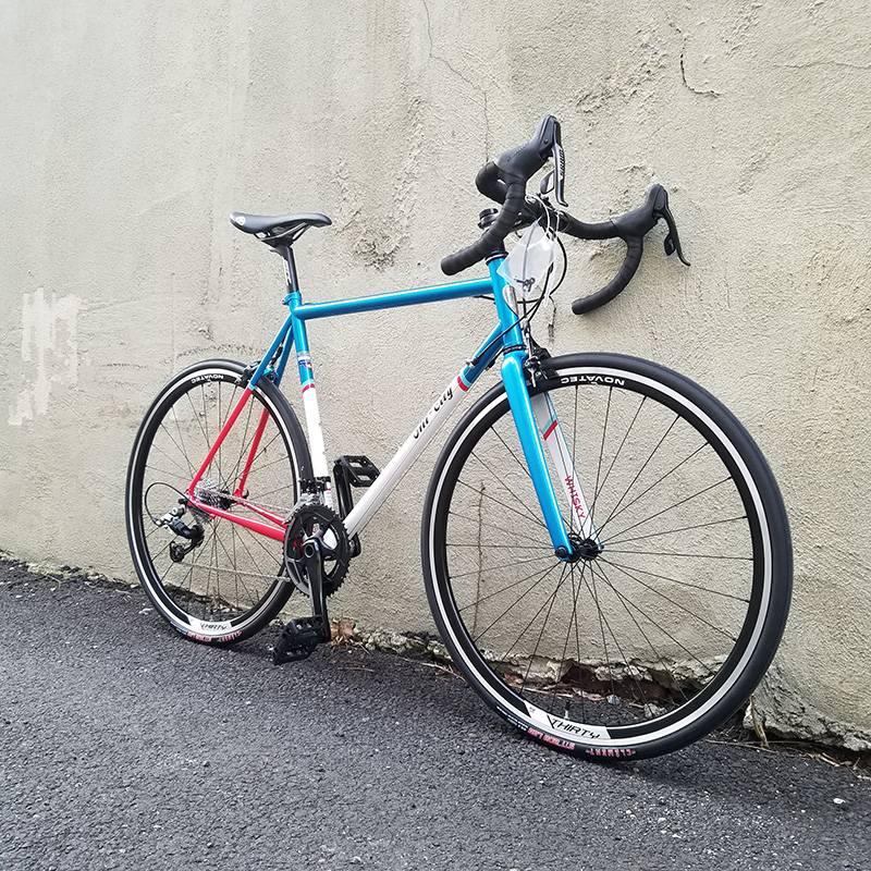 All-City All-City 55cm Mr. Pink ZONA 11-speed Bike Blue/White