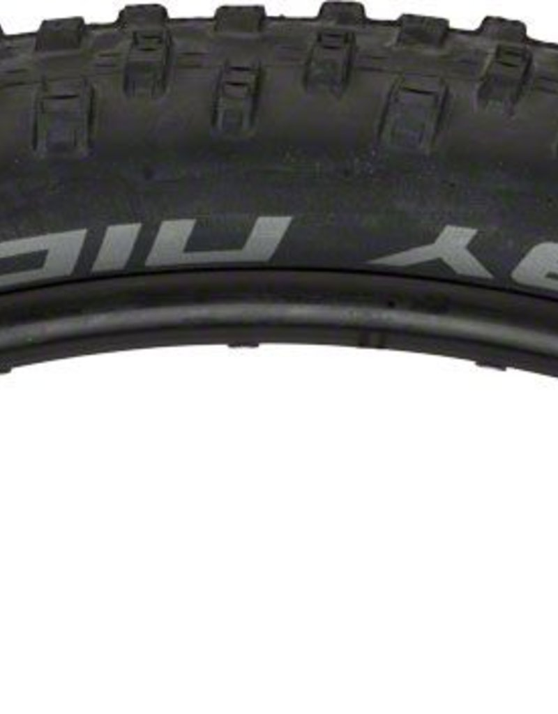"""Schwalbe Schwalbe Nobby Nic Tire: 27.5+ x 2.8"""" Tubeless Easy with Apex casing and Addix SpeedGrip Compound, Folding Bead, Black"""