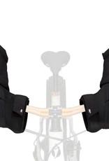 45NRTH 45Nrth Cobrafist Pogie Handlebar Mitten: Black~ One Size