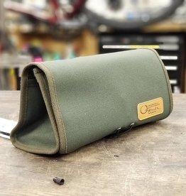 Ostrich Biwa-Ichi Handlebar Bag Khaki Green