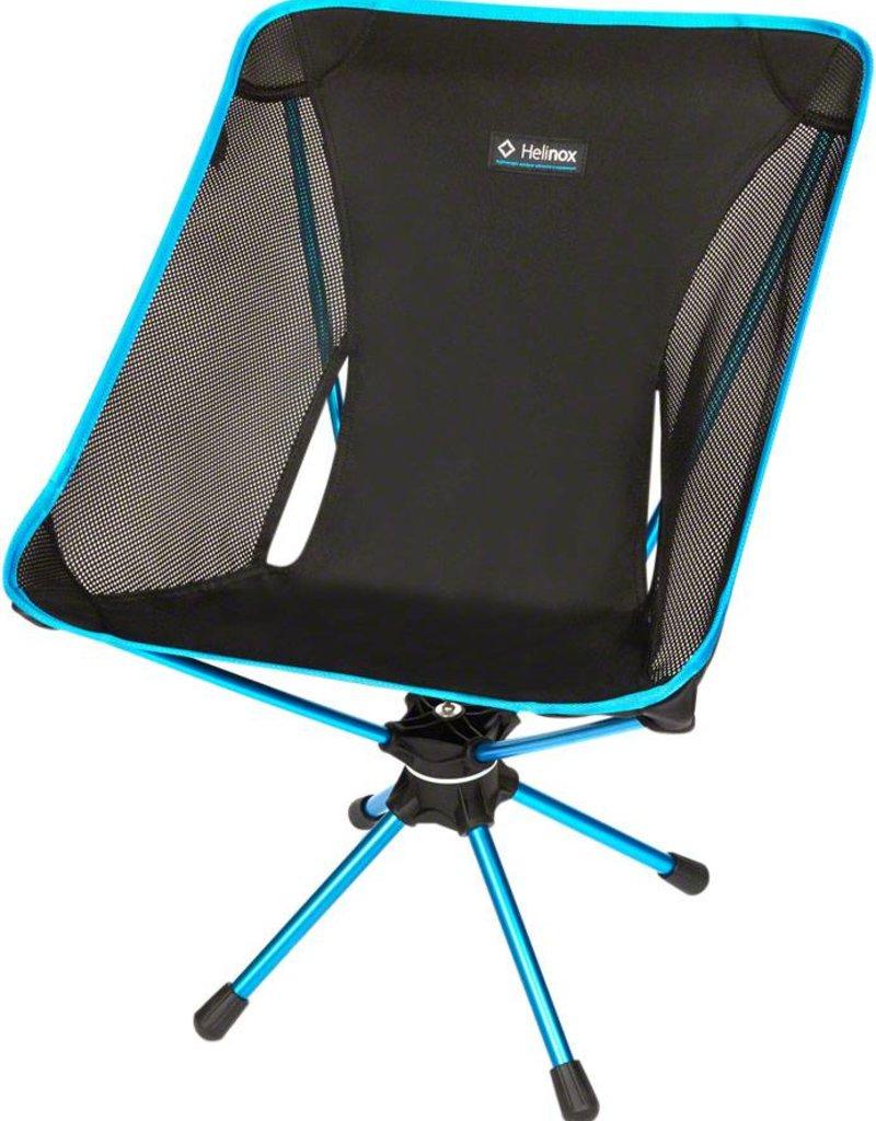 Helinox Swivel Camp Chair: Black/Blue
