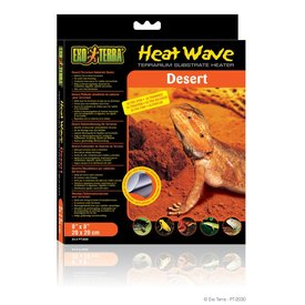 "Rolf C. Hagen PT2030 Exo-Terra Heatwave Desert, 8W, 110V,  8"" x 8"