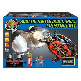 Zoo Med LF-32 ZOO UVB & HEAT DUAL DOME KIT TURTLE 5.0/50W
