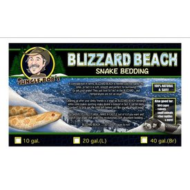 Jungle Bob Enterprises Inc. 6932 Jungle Bob Blizzard Beach Snake Bedding 40BR