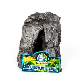Jungle Bob Enterprises Inc. 8086 Jungle Bob Aquarium Cave Small Grey
