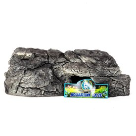 Jungle Bob Enterprises Inc. 8090 Jungle Bob Aquarium Cave Large Grey