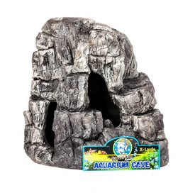Jungle Bob Enterprises Inc. 8209 Jungle Bob Aquarium Cave XLarge Grey