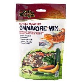 Zilla 09625 Zilla Reptile Munchies Omnivore Mix