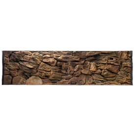 Jungle Bob Enterprises Inc. 7823 Jungle Bob Background 48x13 Inch For Aquarium 33 Gallon Rock
