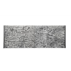 Jungle Bob Enterprises Inc. 8280 Jungle Bob Background  16X10 Inch For Aquarium  5 Gallon Thin Grey