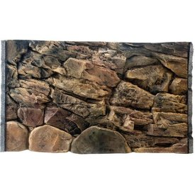 Jungle Bob Enterprises Inc. 7828 Jungle Bob Background 36x23 Inch For Aquarium 45 Gallon Rock