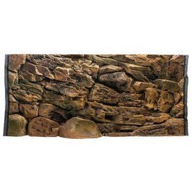 Jungle Bob Enterprises Inc. 7833 Jungle Bob Background 48x25 Inch For Aquarium 90/120 Gallon Rock