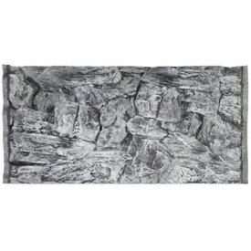 Jungle Bob Enterprises Inc. 7844 Jungle Bob Background 30x18 Inch For Aquarium 29 Gallon Rock Grey