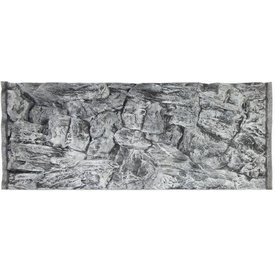 Jungle Bob Enterprises Inc. 7872 Jungle Bob Background 48X13 Inch For Aquarium 33 Gallon Rock Grey