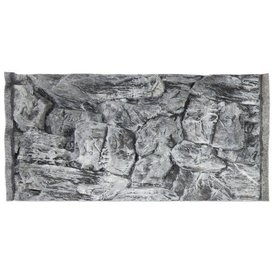 Jungle Bob Enterprises Inc. 7889 Jungle Bob Background 24x16 Inch For Aquarium 20 Gallon High Rock Grey