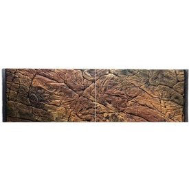 Jungle Bob Enterprises Inc. 7788 Jungle Bob Background 48x13 Inch For Aquarium 33 Gallon Thin