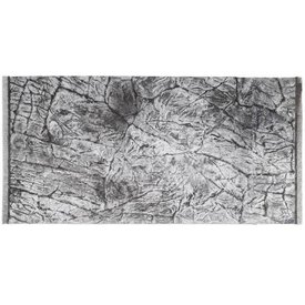 Jungle Bob Enterprises Inc. 8243 Jungle Bob Background 48x25 Inch For Aquarium 90/120 Gallon Thin GREY