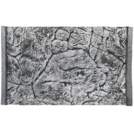 Jungle Bob Enterprises Inc. 8296 Jungle Bob Background  30X21 Inch For Aquarium 37 Gallon Thin GREY