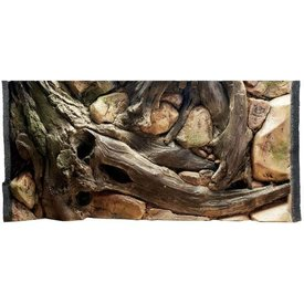 Jungle Bob Enterprises Inc. 7861 Jungle Bob Background 36x17 Inch For Aquarium 40 Gallon Amazon