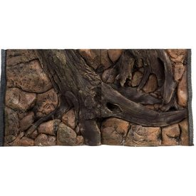 Jungle Bob Enterprises Inc. 7866 Jungle Bob Background 48x25 Inch For Aquarium 90/120 Gallon Amazon