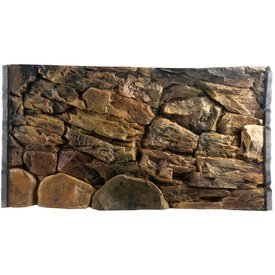 Jungle Bob Enterprises Inc. 7888 Jungle Bob Background 24x16 Inch For Aquarium 20 Gallon High Rock
