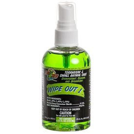 Zoo Med WO14 ZOO WIPEOUT 1 TERR CLEANER 4.25oz