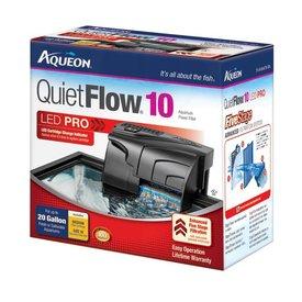 Aqueon Aqueon QuietFlow 10 LED Pro Aquarium Power Filter 10-20gal