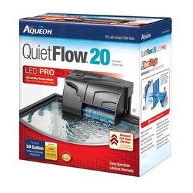 Aqueon Aqueon QuietFlow 20 LED Pro Aquarium Power Filter 20-30gal