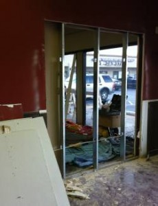 Construction and Painting the store