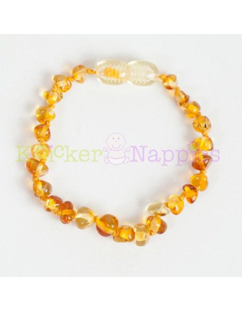 Knickernappies Baltic Amber Bracelets