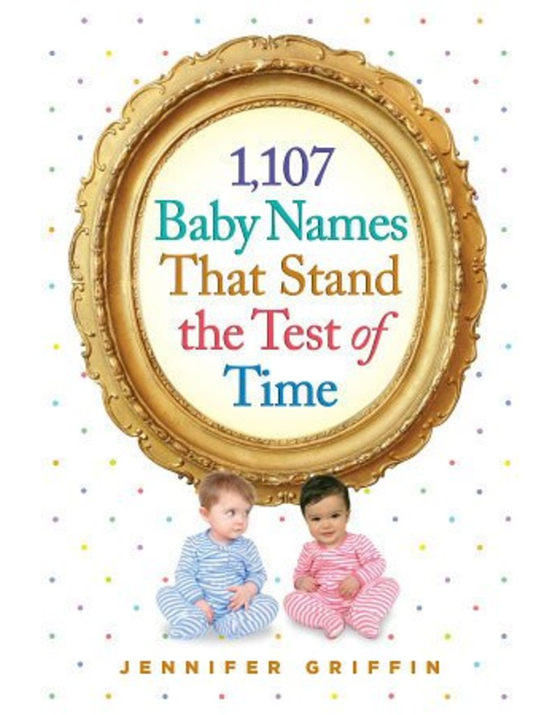 Workman Publishing 1107 Baby Names Book