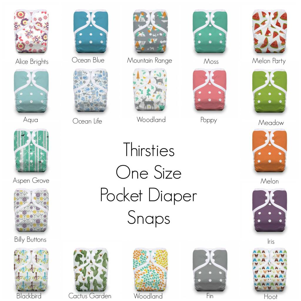 Thirsties Thirsties OS Pocket Diaper