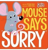 "Capstone Mouse says ""Sorry"" Book"