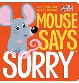 """Capstone Mouse says """"Sorry"""" Book"""