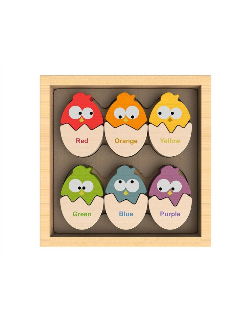 Begin Again Color N Eggs Matching Game