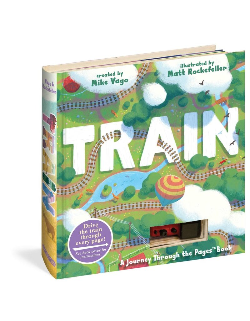 Workman Publishing Train - Journey Through The Pages Book